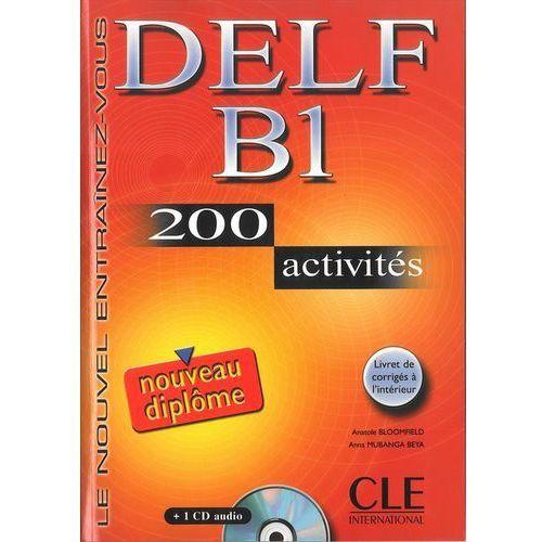 DELF B1 200 activites+1 Cd audio