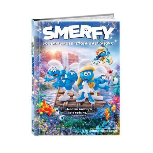 Imperial cinepix Smerfy: poszukiwacze zaginionej wioski (dvd) + książka
