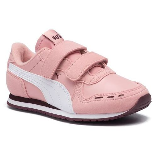 Puma Sneakersy - cabana racer sl v ps 360732 79 bridal rose/puma white