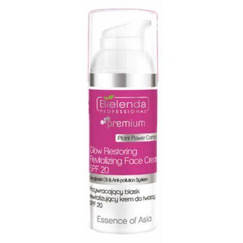 Bielenda professional glow restoring revitalizing face cream spf20 przywracający blask rewitalizujący krem do twarzy spf20