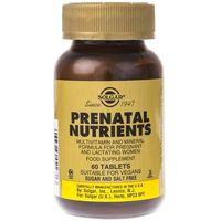 Tabletki Solgar Witaminy i minerały prenatalne - 60 tabletek