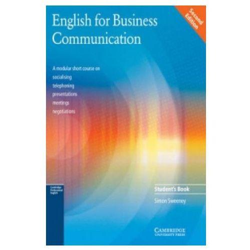 English for Business Communication, Student's Book (podręcznik), Cambridge University Press