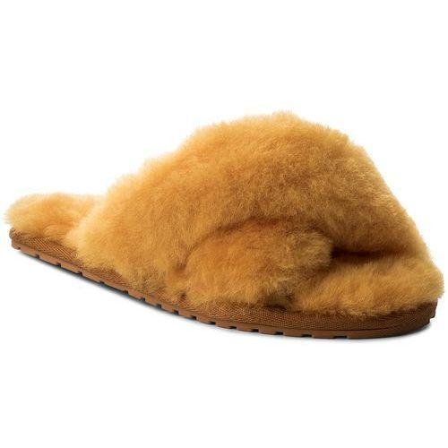 Kapcie - mayberry w11573 mustard marki Emu australia