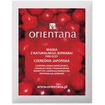Orientana - Maska tkaninowa pod oczy - CZEREŚNIA JAPOŃSKA (5902596416263)