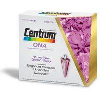 Centrum ONA x 90 tabletek + Elegancka zawieszka z kryształem Swarovski róż w prezencie