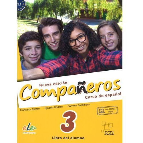 Companeros 3 Podręcznik + licencia digital - nueva edicion