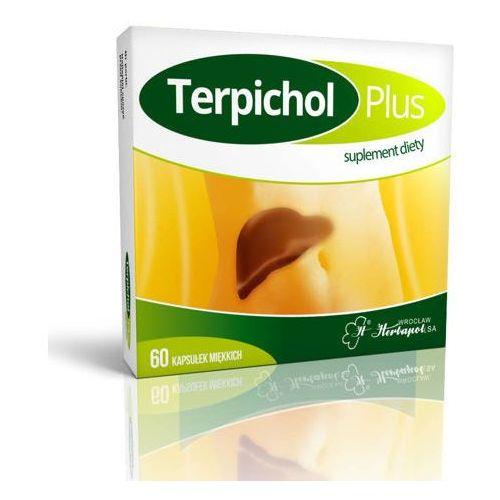 Terpichol plus x 60 kapsułek Herbapol wrocław