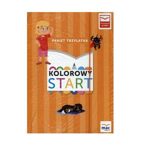 Kolorowy Start. Trzylatek. Pakiet Podręczników, oprawa kartonowa