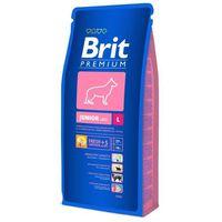 Brit premium Dwupak - premium junior l, 2 x 15 kg (8594031449362)
