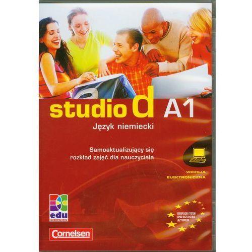 Studio d A1 Język niemiecki Samoaktualizujący się rozkład zajęć dla nauczyciela (9783060206070)