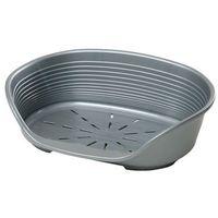 Ferplast legowisko plastikowe siesta deluxe 4 61,5x45x21,5cm kolor: srebrny (8010690070834)