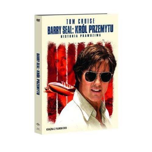 Filmostrada Barry seal: król przemytu (dvd) + książka