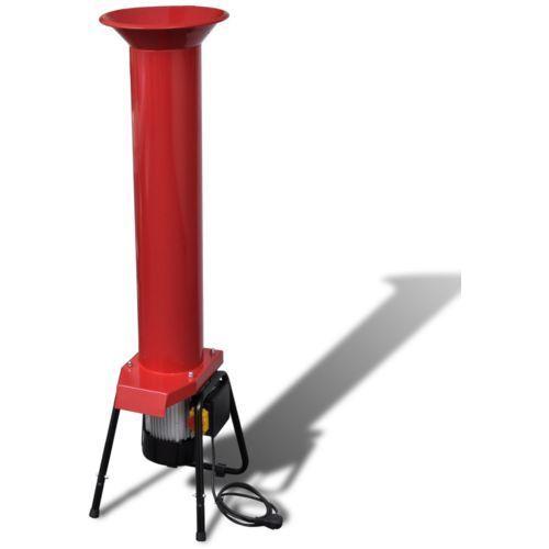 Vidaxl  elektryczny młyn nożowy do owoców ze stali węglowej czerwony (8718475878735)