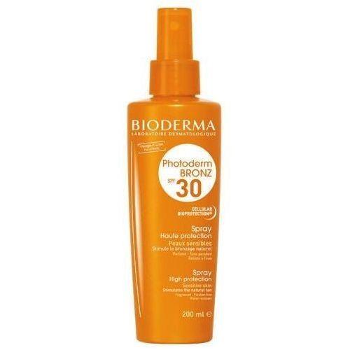 BIODERMA Photoderm Bronz SPF30 / UVA16 spray do opalania 200ml - Ekstra oferta