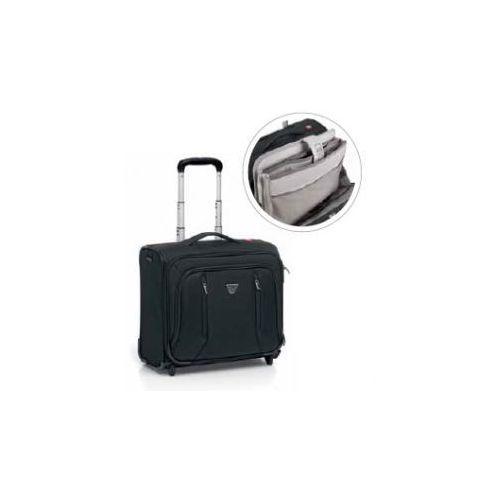 """Roncato walizka pilotówka z kolekcji city z kieszenią na laptopa 15,6"""" 2 koła materiał nylon/ polyester"""