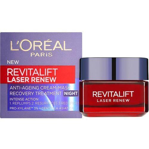 L'Oréal Paris Revitalift Laser Renew krem na noc przeciw starzeniu się skóry (Anti-Ageing Cream-Mask) 50 ml