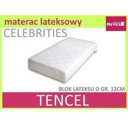 Dziecięcy materac lateksowy celebrities baby 60x120 marki Hevea