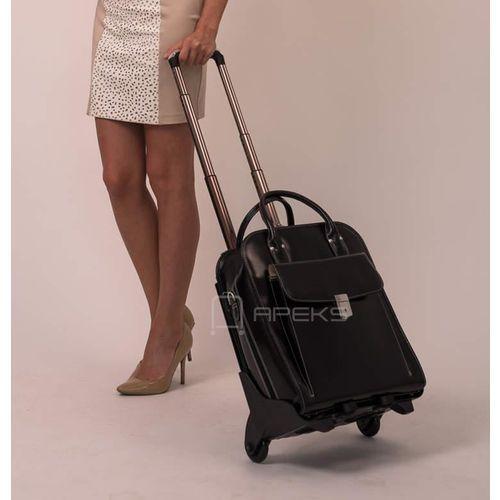 La grange skórzana damska torebka na laptopa 15,4