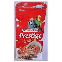 prestige snack budgies 125g przysmak z biszkoptami i owocami dla papużek falistych marki Versele-laga