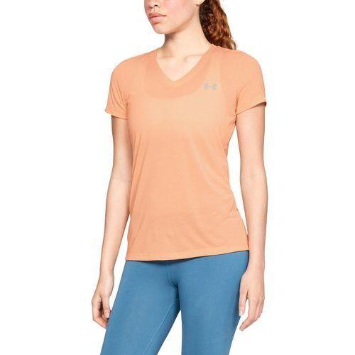 koszulka threadborne train pomarańczowa - pomarańczowy marki Under armour