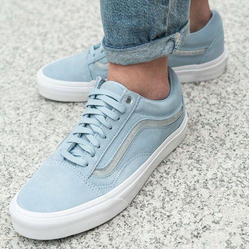 Buty sportowe old skool jelly sidestripe cool blue (vn0a38g1vra1) marki Vans