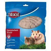 Trixie kołderka dla chomika wooly brązowa maxi-pack 100g