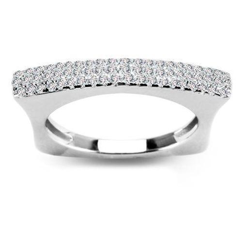 a198f192da8a71 Scarlett - srebrny pierścionek z cyrkoniami - Oladi.pl - Pierścionki ...