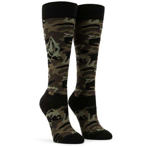 Skarpetki - ttt sock service green (svg) rozmiar: xs/s marki Volcom