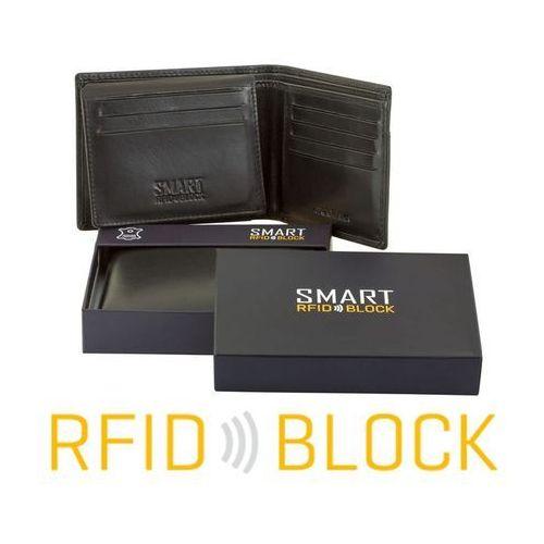 3856751a2832d ... Koruma® ✅ skórzany portfel na karty ochrona rfid miękka czarna skóra  naturalna - czarny ...