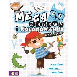 Zielona sowa Megazabawy i kolorowanki dla chłopców - opracowanie zbiorowe