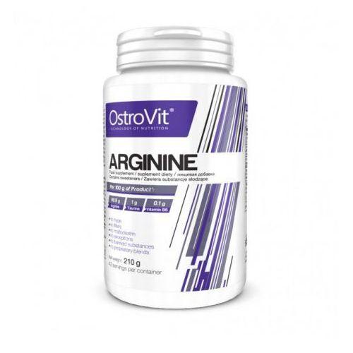 L- arginina L- arginine proszek 210g pure OstroVit