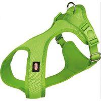 (bez zařazení) Szelki soft profilowane jasno zielone - 15mm/25-35 cm