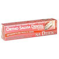 Pasta ortho salvia dental classic day (czerwona) - na dzień, dla osób noszących aparaty ortodontyczne 75ml marki Atos
