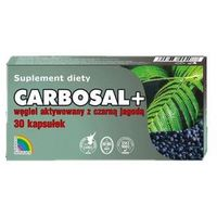 Kapsułki Carbosal + węgiel z czarną jagodą 30 kaps.