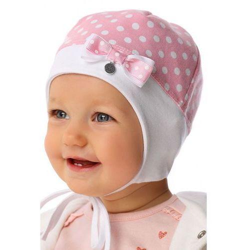 Czapka niemowlęca wiązana 5X34AS