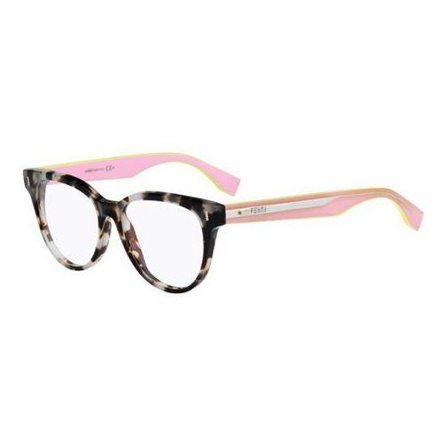 Fendi Okulary korekcyjne ff 0164 color block uey