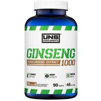 Suplement prozdrowotny UNS Ginseng 1000 90 tab Najlepszy produkt