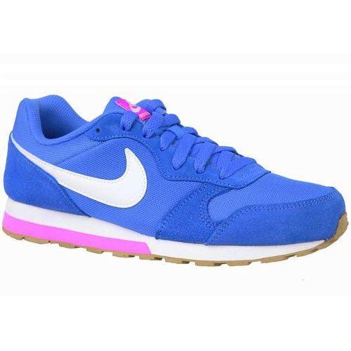 Damskie md runner 2 807319-404 niebieski Nike