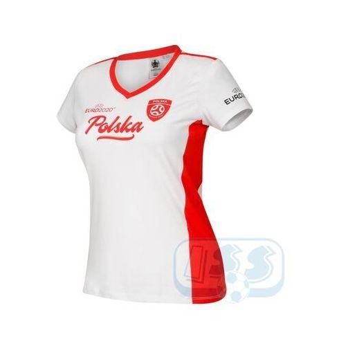 Bpol185w: polska - t-shirt damski , Euro 2020