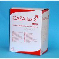 Gaza opatrunkowa jałowa 0.25 m2 gaza lux s 13 n marki Zarys