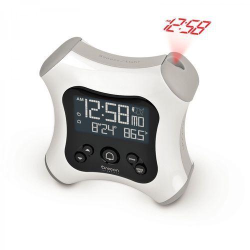 Oregon scientific zegar rm330 z projektorem biały (4891475757942)