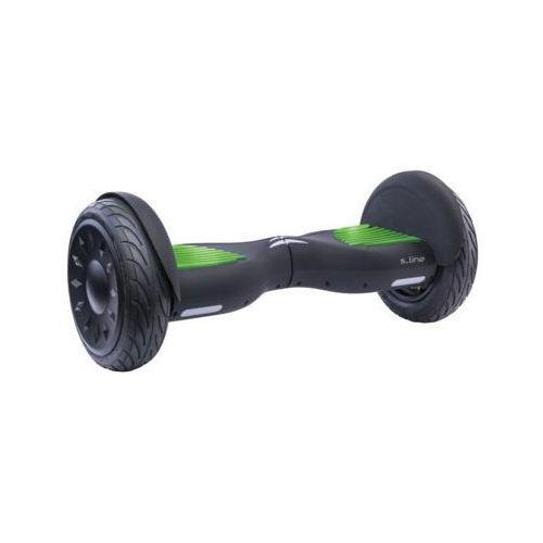 """S-line Elektryczna deskorolka smartboard 10"""" sb205g czarno-zielony darmowy transport (5902686233060)"""