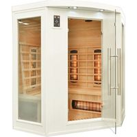 Home&garden Sauna infrared z koloroterapią cp3c gh white