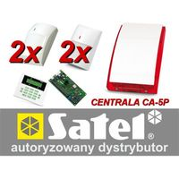 Satel Alarm  ca-5 lcd, 2xgraphite pet, 2xgray plus, syg. zew. sp-4003