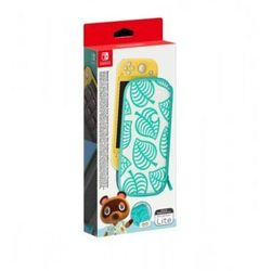 Nintendo Switch lite carrying case animal crossing: new horizons edition etui