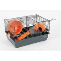 Zolux klatka indoor 40 cm dla chomika szary/pomarańczowy - darmowa dostawa od 95 zł!