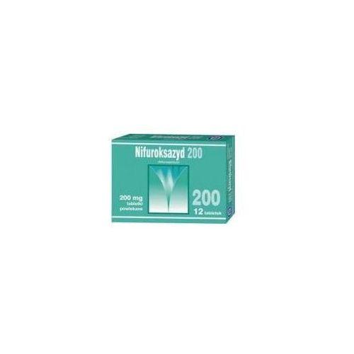 Tabletki NIFUROKSAZYD 200mg x 12 tabletek