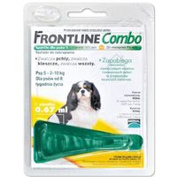 Frontline combo spot -on pies s 2-10kg (pipeta 3x 0,67ml) (5909997033945)