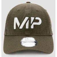 MP NEW ERA 9TWENTY Baseball Cap - Dark Olive/White