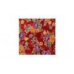 Furoshiki czerwone kwiaty l marki -